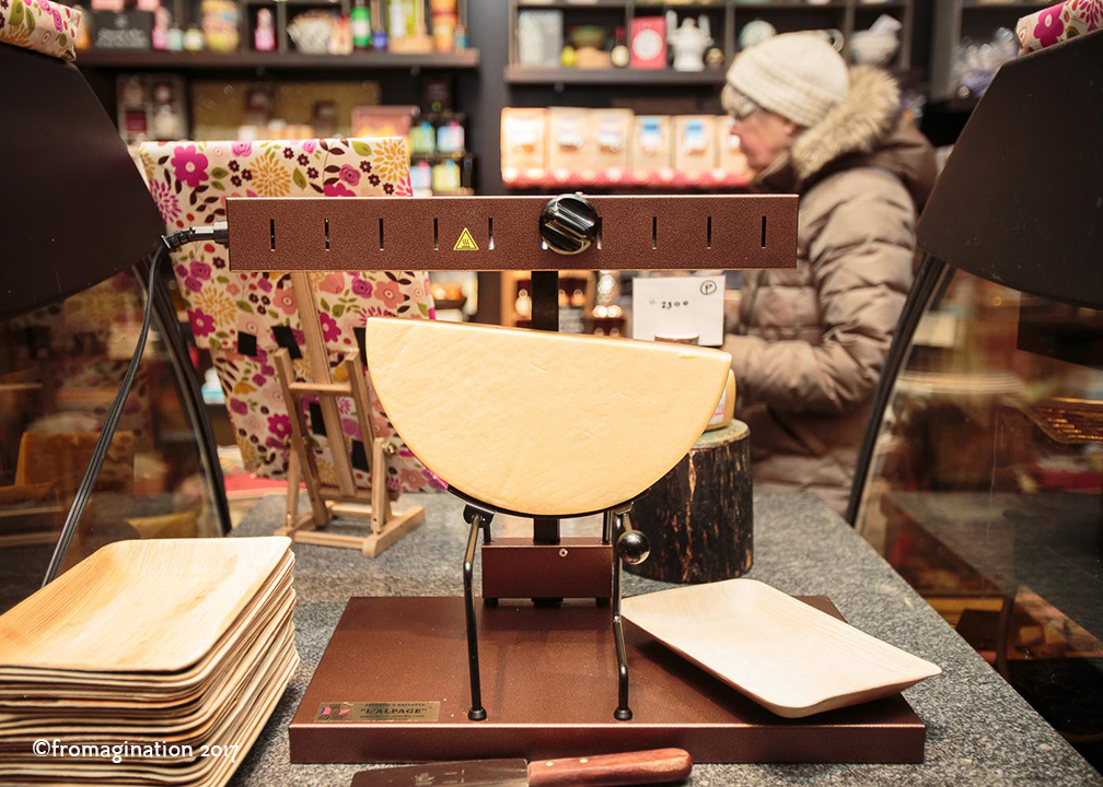 Fromagination feature Raclette Lunch during winter months.