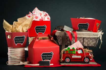 Fromagination Holiday Packaging