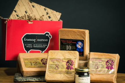 Fromagination's Hook's Aged Cheddars Gift Set