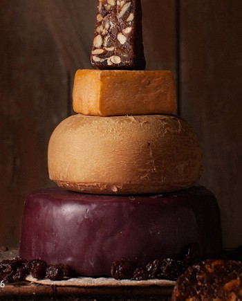 Fromagination features the Rustic Reunion Cake of Cheese