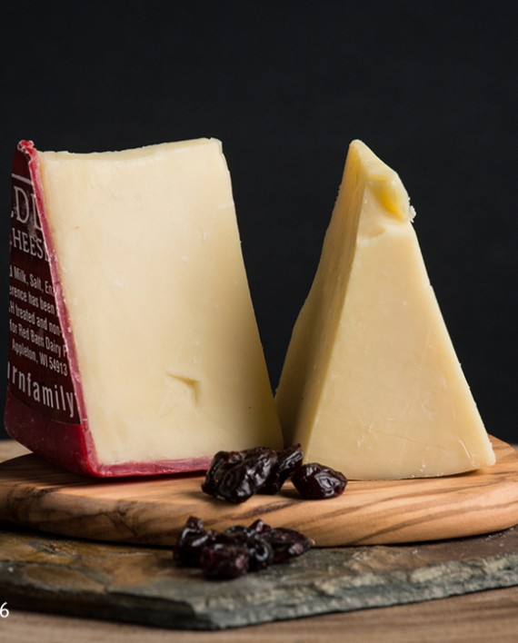 Fromagination features Heritage Weiss Cheddar cheese from Red Barn