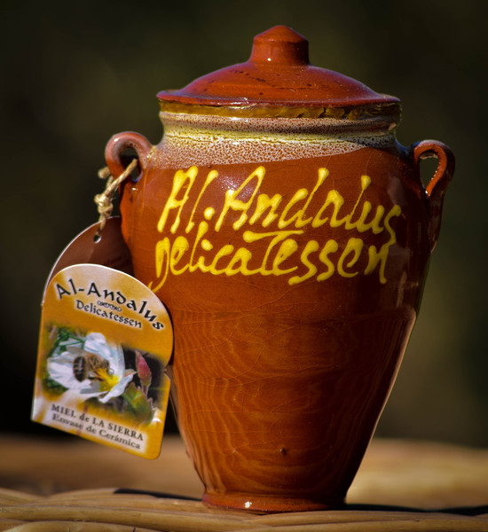 Fromagination features the Al Andulus Mountain Honey Crock