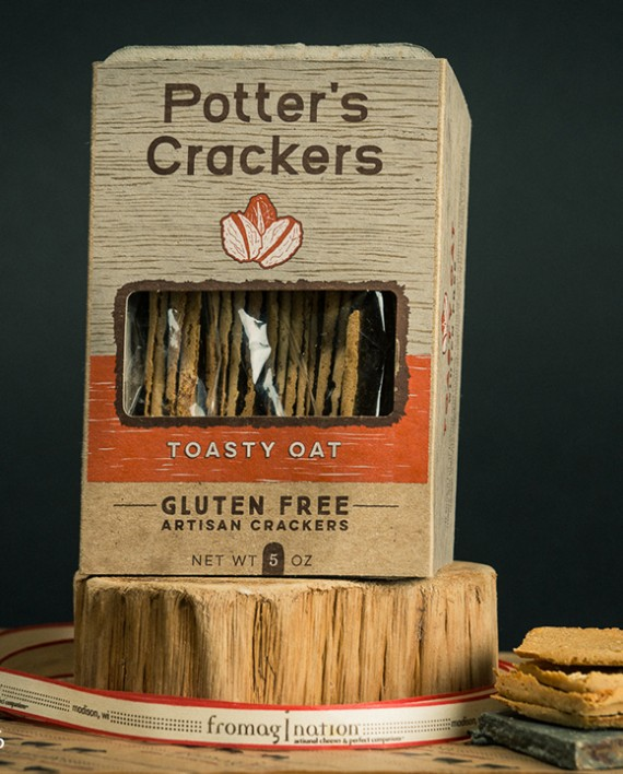 Fromagination features Potter's Toasty Oat Crackers