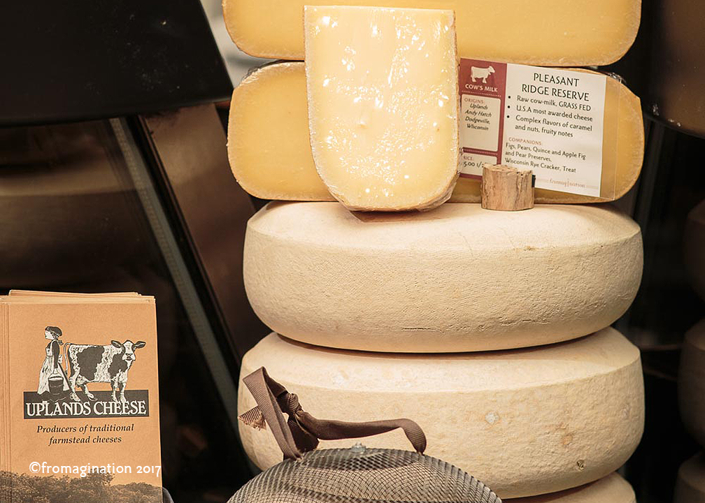 Pleasant Ridge Reserve cheese at Fromagination