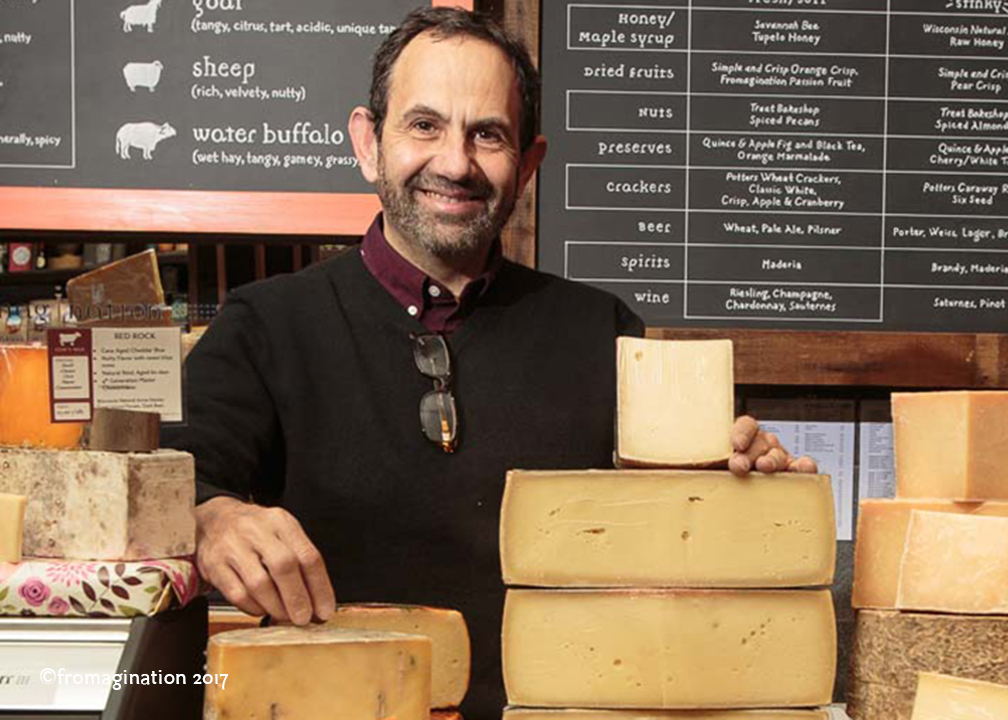 Fromagination's Owner Ken Monteleone