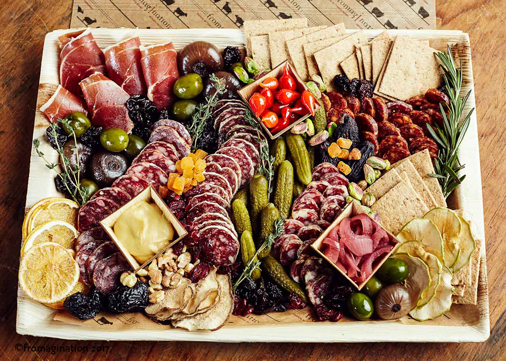 Artisan Charcuterie Tray Fromagination