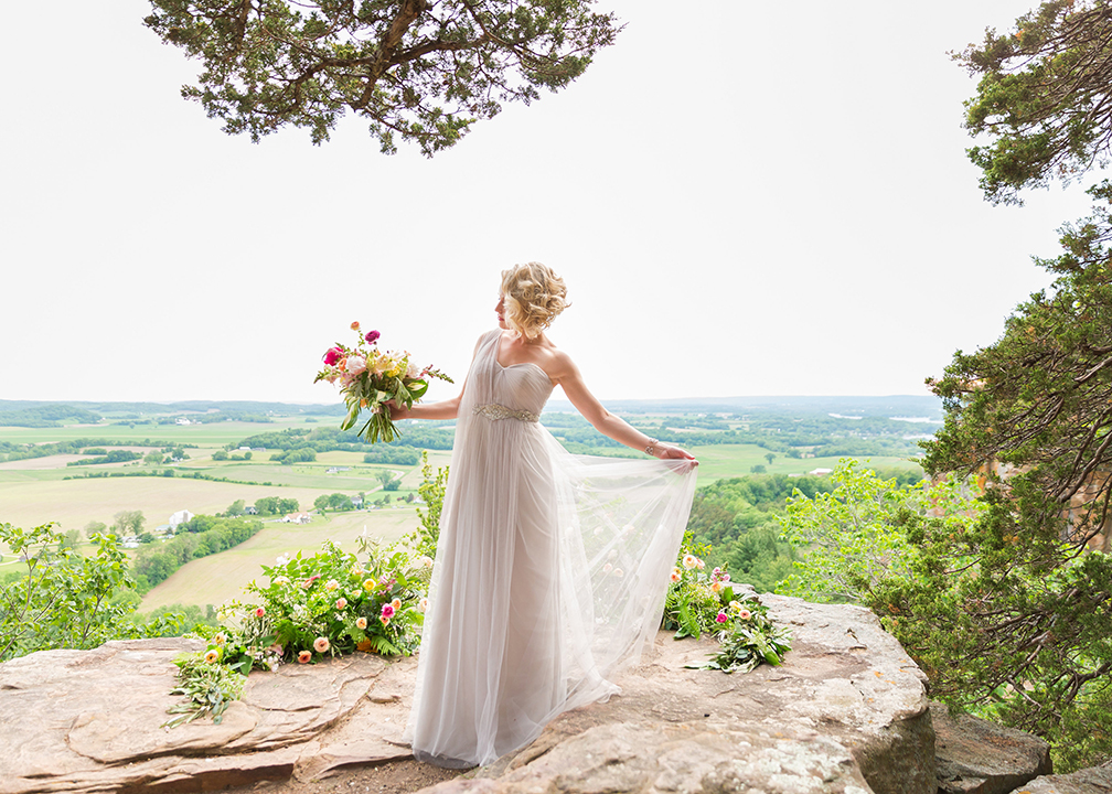 Fromagination Bride at Cliff View