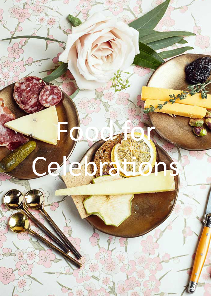 Fromagination's food for celebrations
