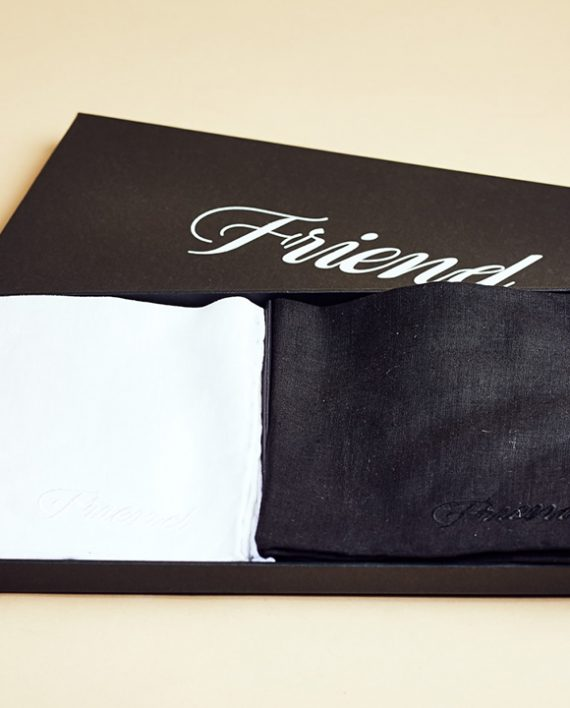 Fromagination features Friend towels