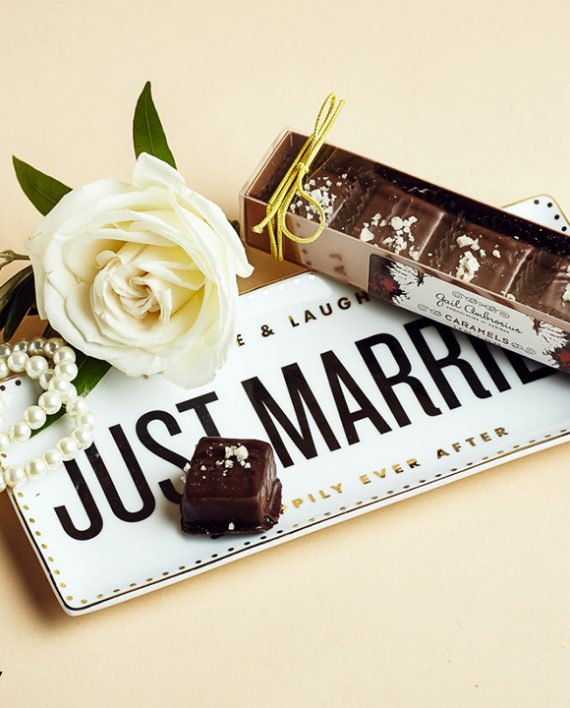 Fromagination carries wedding favors