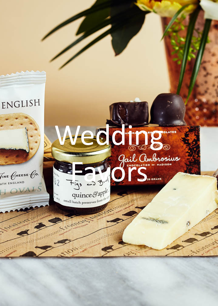 Fromagination's Wedding Favors