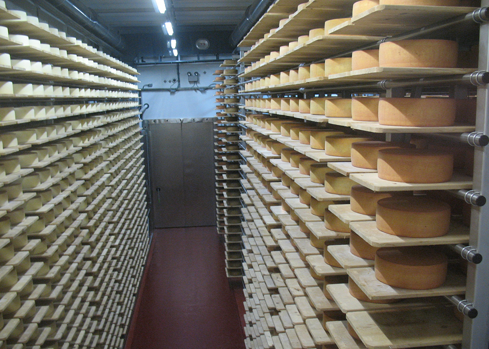 Fromagination staff visits Emmi Roth USA, Monroe, Wisconsin