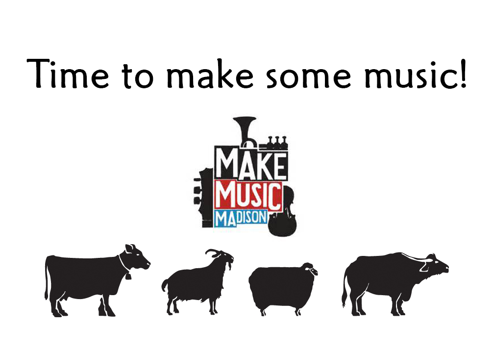 Fromagination supports Make Music Madison