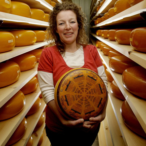 Fromagination features Marieke Penterman's cheeses