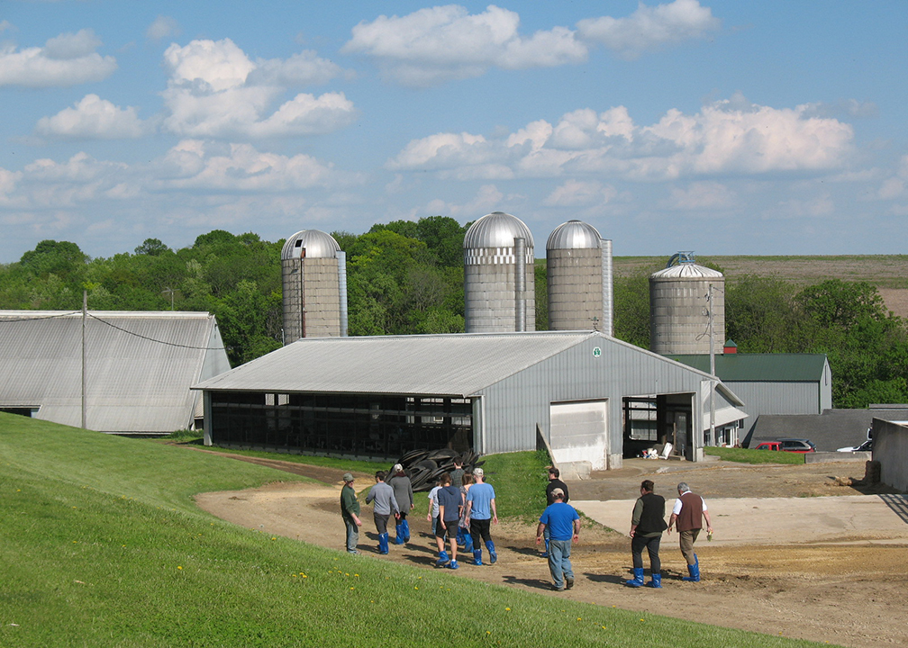 Fromagination Employees Visit a Dairy Farm
