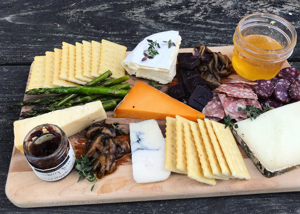 Fromagination features a Mother's Day cheese board