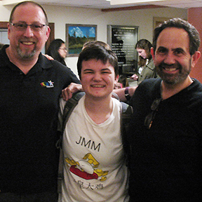 Fromagination owner Ken with Proud Theater members