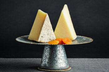 Bleu Mont Bandaged Cheddar cheese is a nationally recognized cheese.