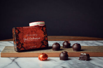 This is an image of Gail Ambrosius 6-piece truffles