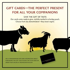 Fromagination Gift Cards
