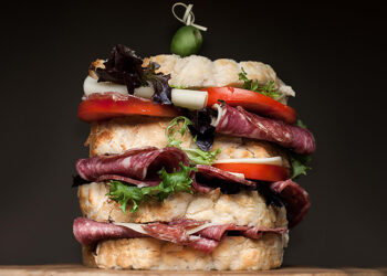 This is a picture of Fromagination's Great Wisconsin Sandwich