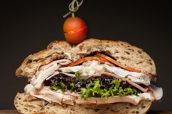 This is a picture of Fromagination's Signature Sandwich