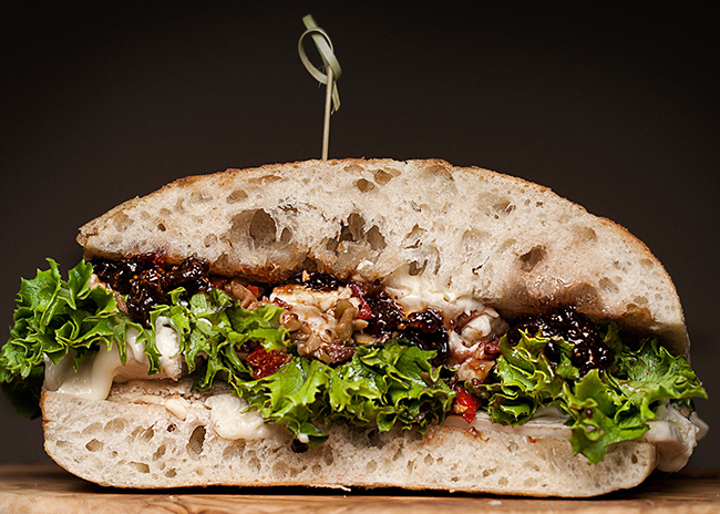This is a picture of Fromagination's Veggiletta Sandwich
