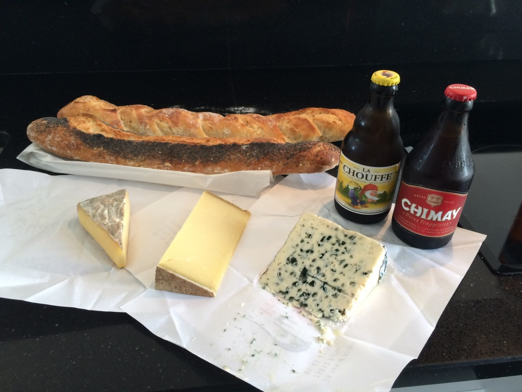 Three Delicious French Cheeses