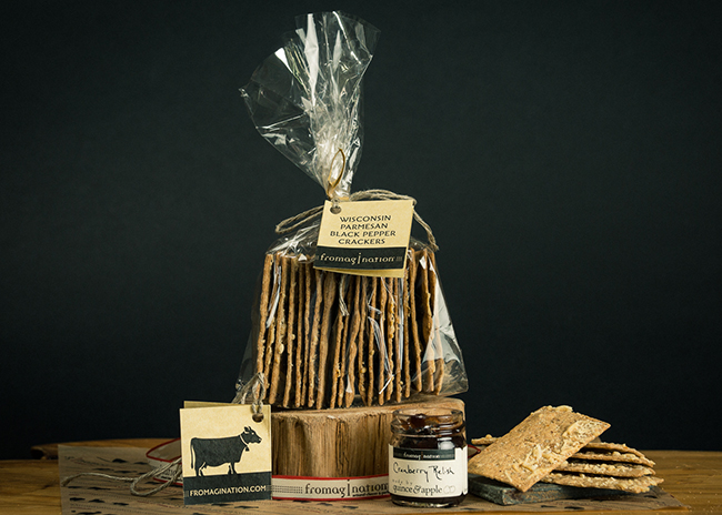 This is a picture of Fromagination's Perfect Companions Gift Set.