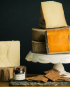A Wisconsin cheese gift basket
