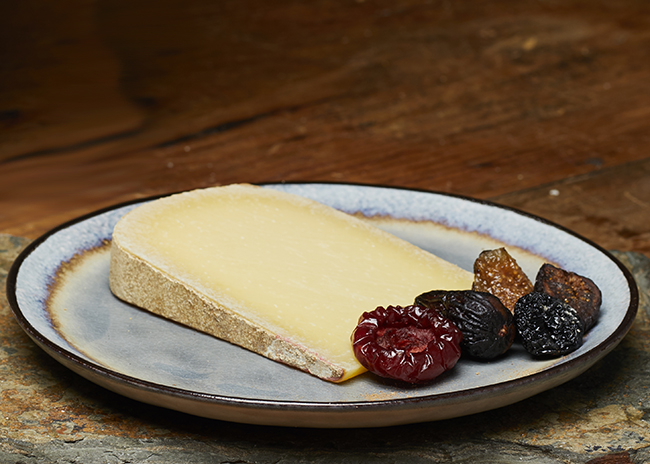 This is a picture of Pleasant Ridge Reserve cheese, featured at Fromagination