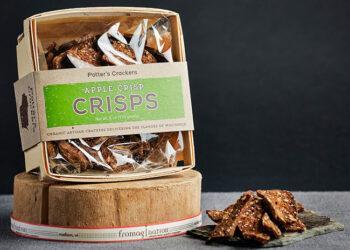 This is a picture of Potter's Apple Crisps.