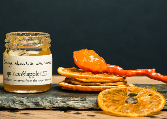 This is a picture of Quince & Apple's Orange Marmelade.
