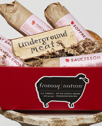 This is a picture of the Underground Meats Gift Set, featured by Fromagination