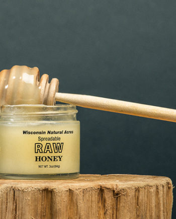 This is a picture of Wisconsin Natural Acres Honey.