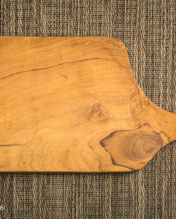 Fromagination features a Rectangular Teakwood Cheese Board