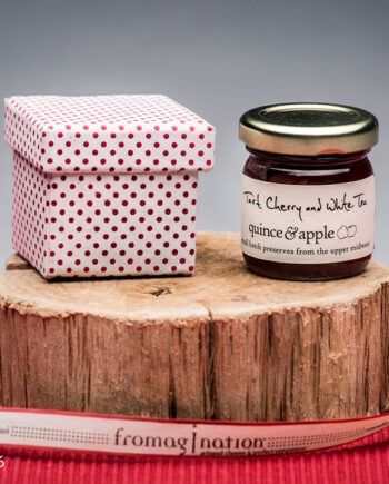 Fromagination features Quince & Apple's Tart Cherry and White Tea Preserves