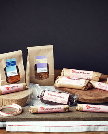 This is a picture of the Charcuterie Gift Set from Fromagination.