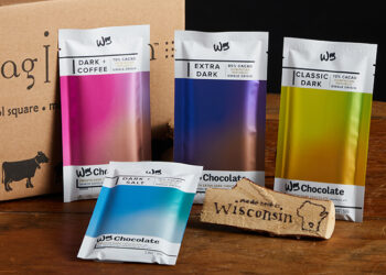 This is a picture of the Wm. Chocolate Bar Collection, offered by Fromagination.
