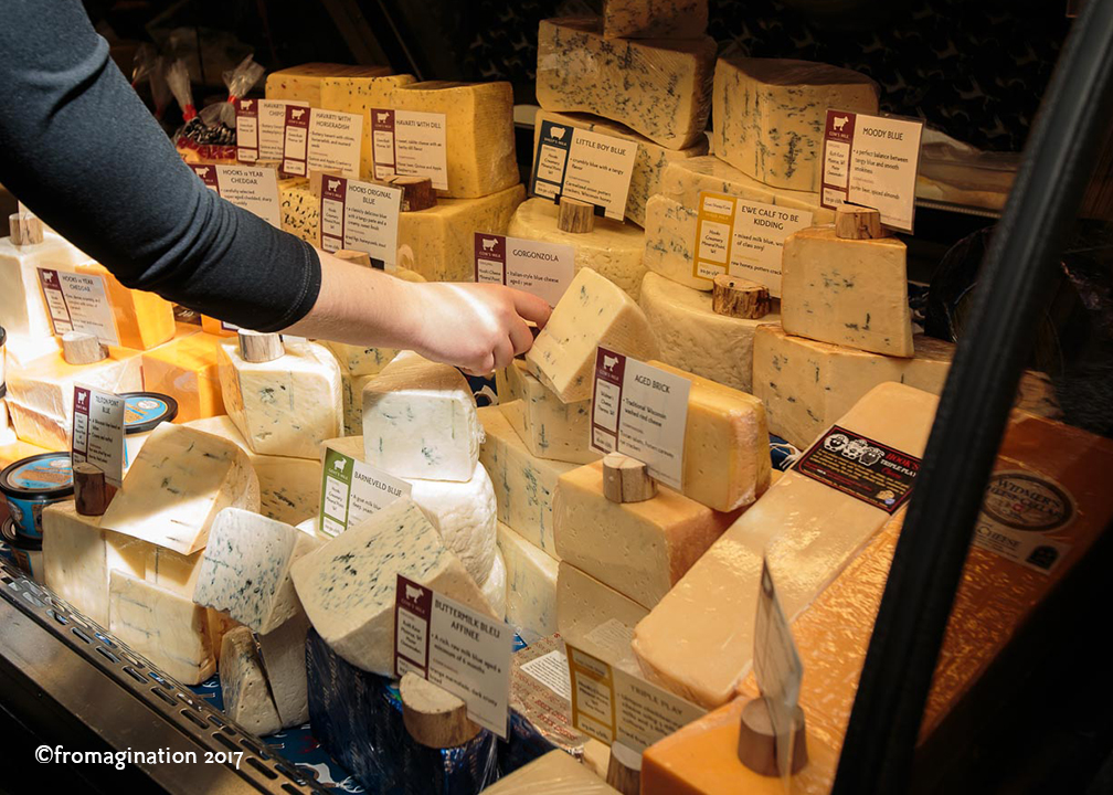 A Cheese Case at Fromagination