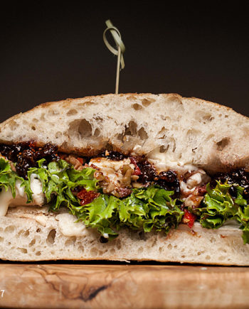 Fromagination's Veggiletta Sandwich