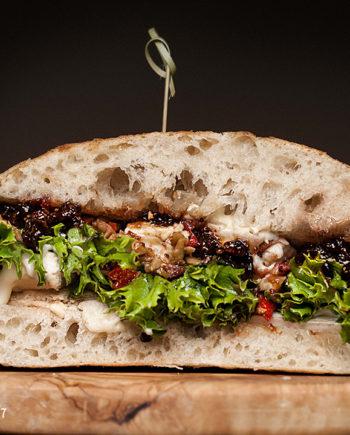 Fromagination's Veggiletta Sandwich