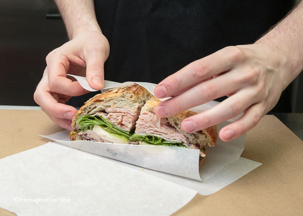 Wrapping a Fromagination Signature Sandwich