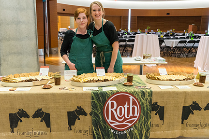 Fromagination staff at Porchlight fundraising event