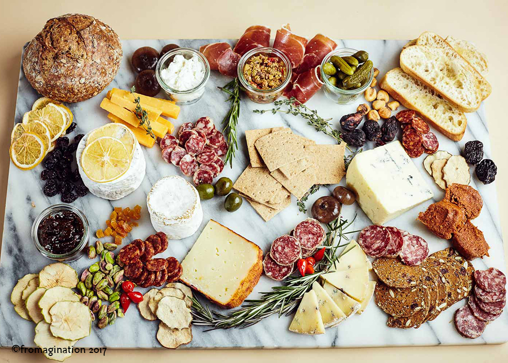 Fromagination features artisan food trays
