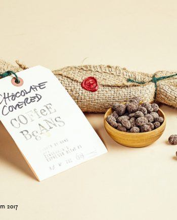 Fromagination features chocolate covered coffee beans