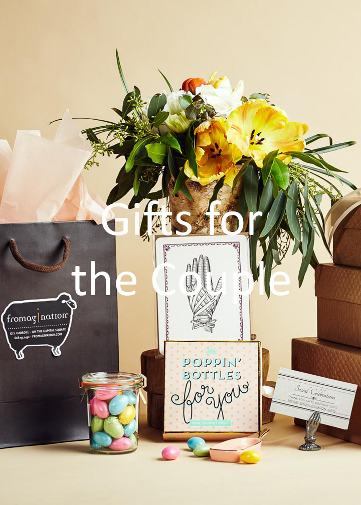 Fromagination's gifts for the couple