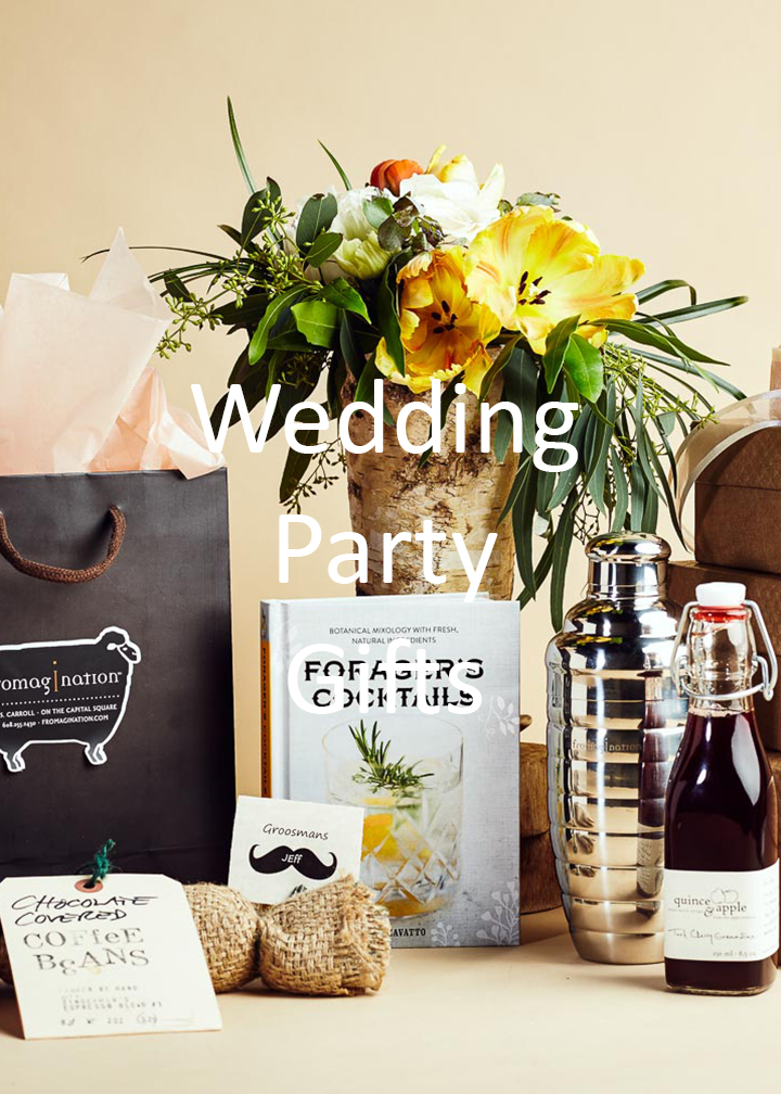 Fromagination's wedding party gifts