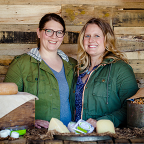 Fromagination features Landmark Creamery products from Anna Landmark and Anna Thomas-Bates