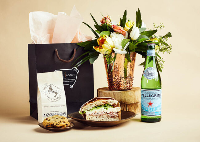 Fromagination feature lunch gift bags